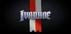 начальный экран игрового автомата ivanhoe